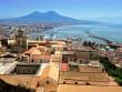 Napoli view - Vesuvius