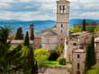 Assisi panorama with Basilica