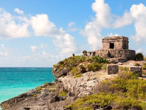メキシコの古代遺跡