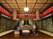 Buddhist altar of Bishamonten