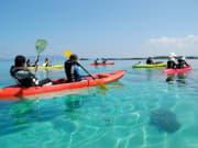 clear kayak okinawa