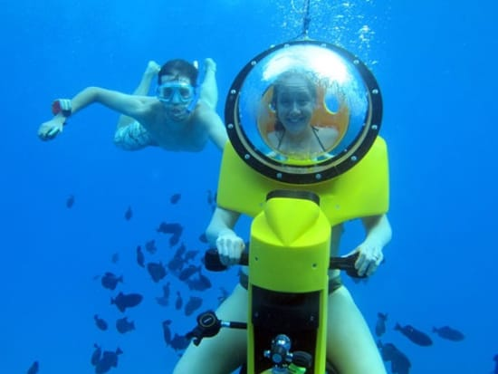 Hawaii's Best Underwater Scooter & Snorkel Experience at
