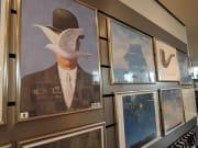 ミュージアムショップに並ぶポスター