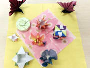 Different origami sample works