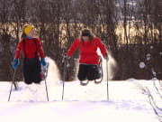 Snowshoes Tour in Tromso Safari