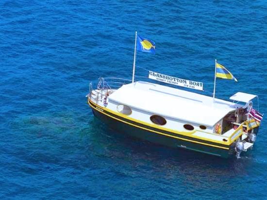 Hawaii_Kona_Kailua Glass Bottom Boat_Kona Sea