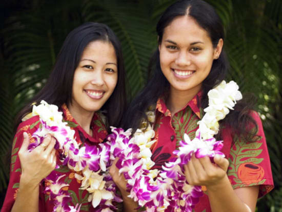Kona airport flower lei greetings big island tours activities experience a traditional hawaiian welcome to the big island with a flower lei greeting at the airport m4hsunfo