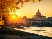 Italy_Rome_Vatican Museums Sunset