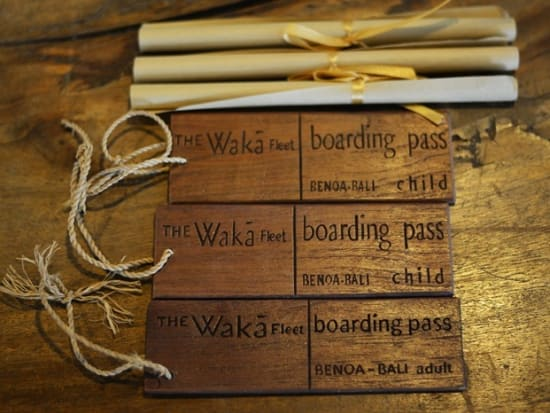 Boarding Pass & Map