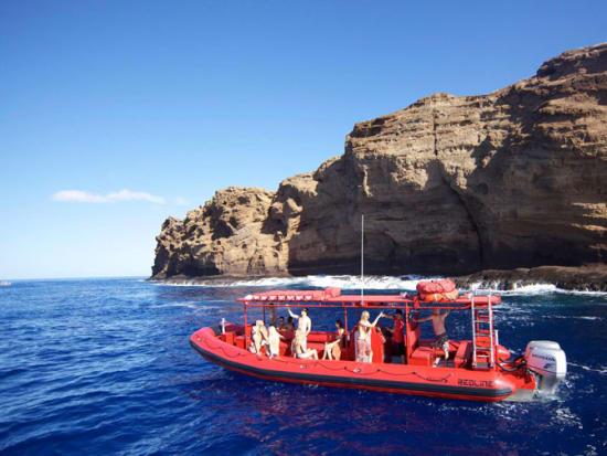 Hawaii_Maui_Redline Rafting_Molokini Snorkeling