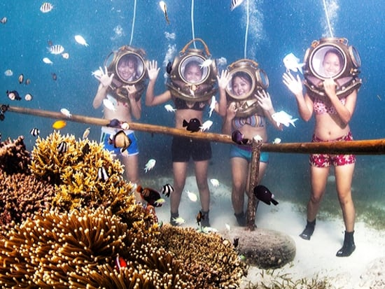 Mactan Helmet Diving