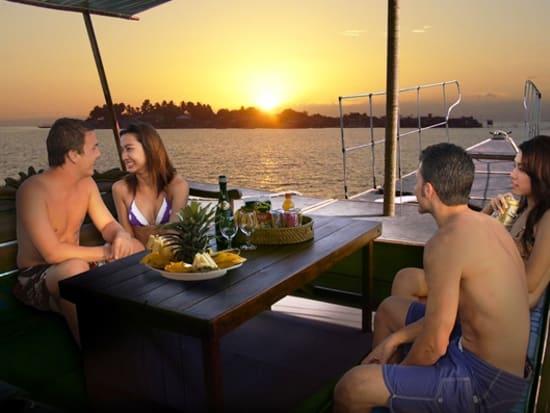 Mactan Banca Boat Couples Sunset Cruise