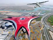 Seawings Ferrari World Aerial view