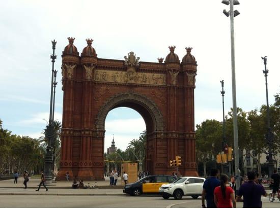 バルセロナ(凱旋門)