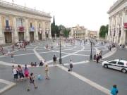 IT_ROME_AM FORO ROMANO WALKING_Piazza del Campidoglio_2011