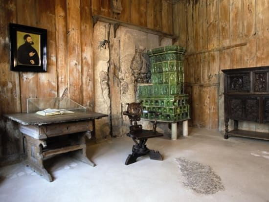 Luther chamber at Wartburg Castle ヴァルトブルク城ルターの部屋