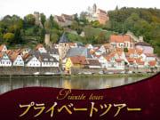 ハイデルベルクと古城と山街道