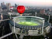 Australia Melbourne Balloon Flight Cricket Ground