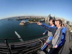 Sydney Harbour Bridge Climb Leader and Group