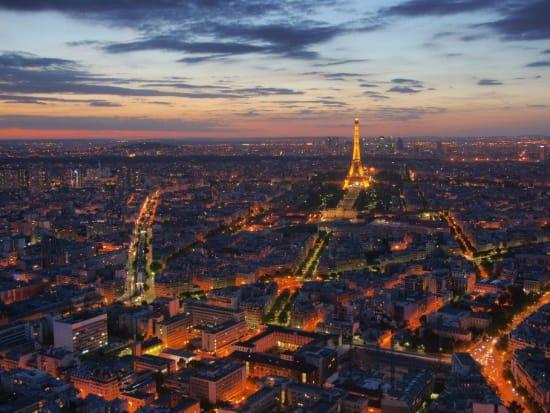 Eiffel Tower viewed from Montparnasse Tower