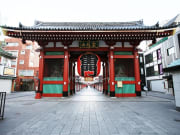 Kaminarimon gates of Asakusa