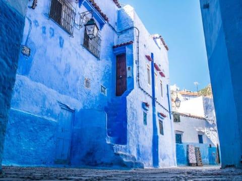 青と白の世界 シャウエン