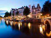 Netherlands, Amsterdam, Evening Canal Cruise