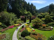 Canada_Victoria_Butchart Gardens brentwood bay