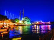 night cruise, Bosphorus