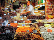 Turkish food, market, Turkey