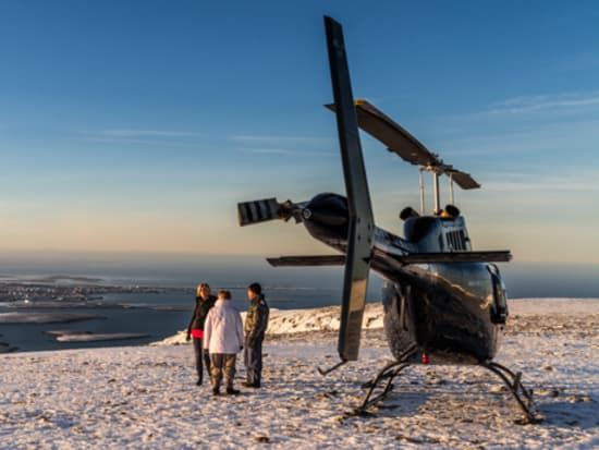 Helicopter Tours in Iceland: Reykjavik Summit Tour