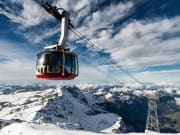 Titlis, ski lift, cable car, Swiss alps