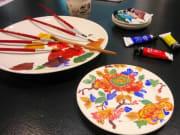 Faience painting class 2