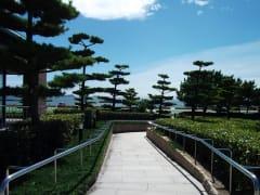 万葉館外風景1