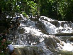 ダンズリバー滝のぼり