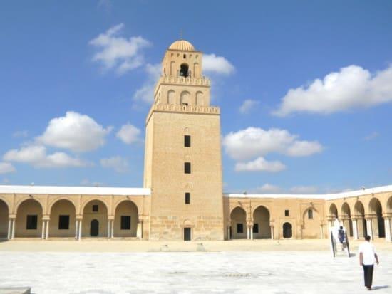 世界遺産ケロアンのグランドモスク