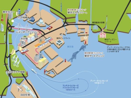 東京ヴァンテアンクルーズ_クルーズ_map