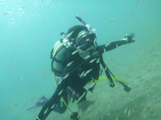 体験ダイビング07