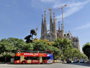 Sagrada Familia Hop on Hop off Bus Tour