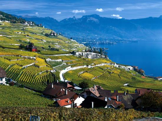 ラヴォー地区(c)Switzerland Tourism