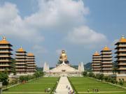 fo guang shan monastery huge buddha statue