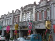 xinhua old street tainan taiwan