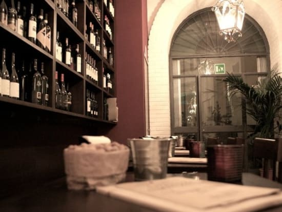 Wine, Appetizers, Ancient Canals, Milan