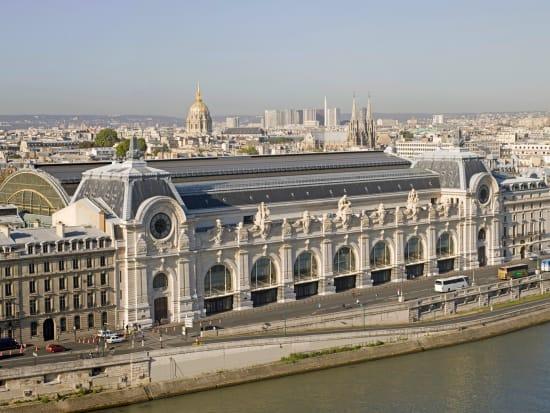 Facade of Musee Orsay