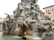 Fiumi Fountain, Rome, Italy