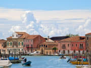 Murano Island known for Glassblowing