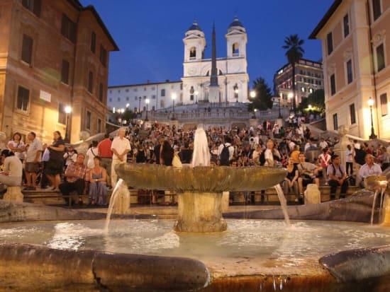 rome, italy, rome at night