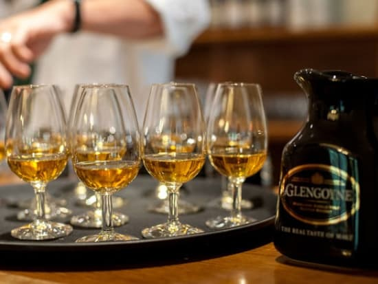 Whisky at Glengoyne Distillery