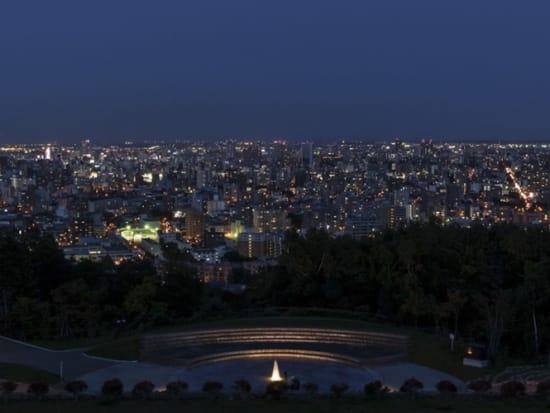 札幌夜景スポット巡り_旭山記念公園1