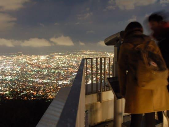 札幌夜景スポット巡り_藻岩山5